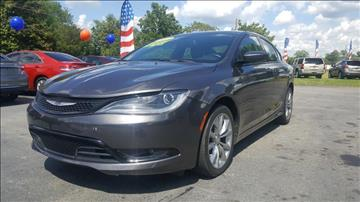 2015 Chrysler 200 for sale at Williams Auto Sales, LLC in Cookeville TN