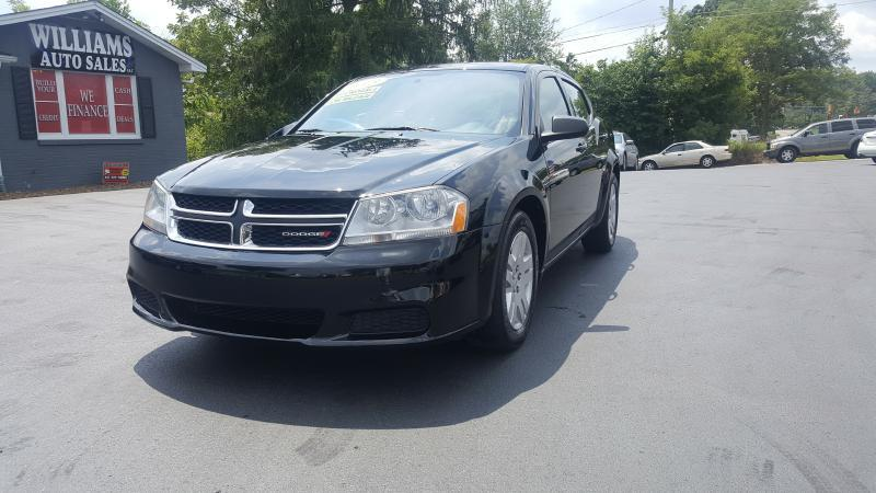 2013 Dodge Avenger for sale at Williams Auto Sales, LLC in Cookeville TN