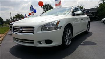 2013 Nissan Maxima for sale at Williams Auto Sales, LLC in Cookeville TN