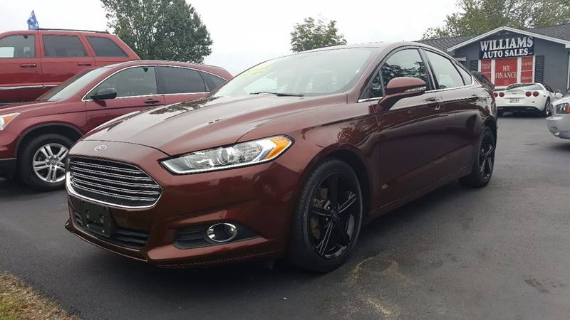 2016 Ford Fusion for sale at Williams Auto Sales, LLC in Cookeville TN