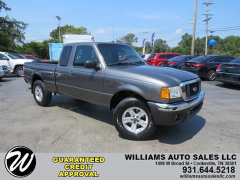 Ford Of Cookeville >> 2005 Ford Ranger For Sale In Cookeville Tn