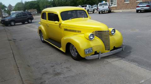 1939 Chevrolet Master Deluxe for sale at Mustards Used Cars in Central City NE