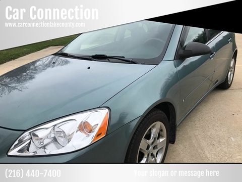 2009 Pontiac G6 for sale in Painesville, OH