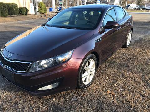 2012 Kia Optima EX Turbo for sale at Car Connection in Painesville OH