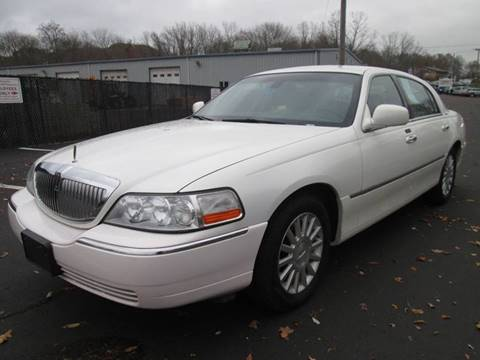 2003 Lincoln Town Car for sale at Kostyas Auto Sales Inc in Swansea MA