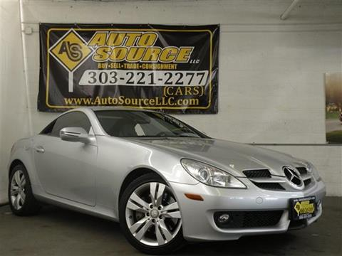 2009 Mercedes-Benz SLK for sale in Denver, CO