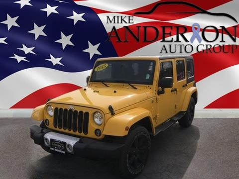 2015 Jeep Wrangler Unlimited for sale in Logansport, IN