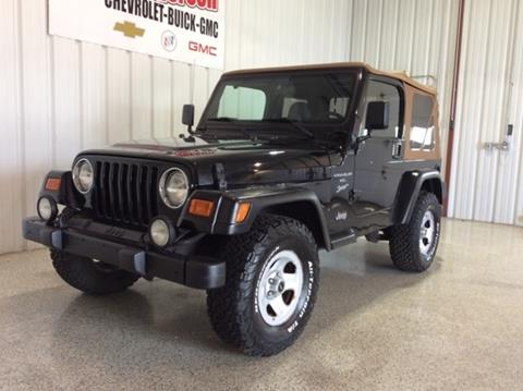 2001 Jeep Wrangler for sale in Logansport, IN