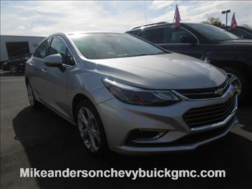 2017 Chevrolet Cruze for sale in Logansport, IN