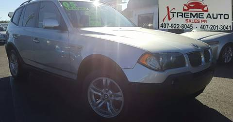 2005 BMW X3 for sale in Kissimmee, FL