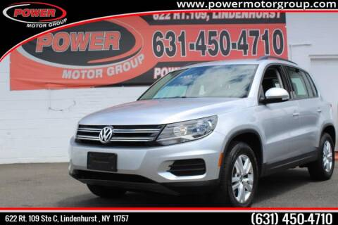 2016 Volkswagen Tiguan for sale in Lindenhurst, NY