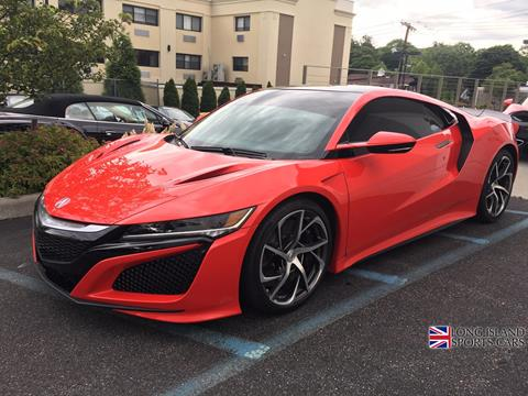 2017 Acura NSX for sale in Roslyn, NY