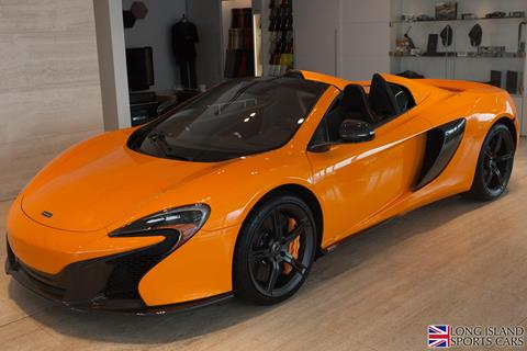 2015 McLaren 650S Spider for sale in Roslyn, NY
