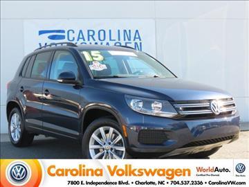 2015 Volkswagen Tiguan for sale in Charlotte, NC