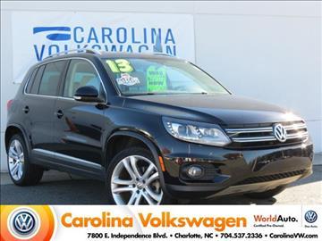 2013 Volkswagen Tiguan for sale in Charlotte, NC