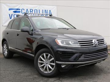 2017 Volkswagen Touareg for sale in Charlotte, NC