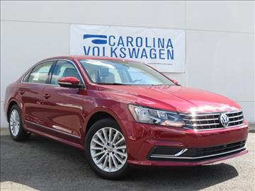 2017 Volkswagen Passat for sale in Charlotte, NC