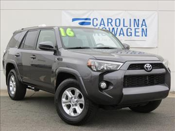 2016 Toyota 4Runner for sale in Charlotte, NC