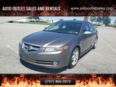 2007 Acura TL for sale in Norfolk, VA