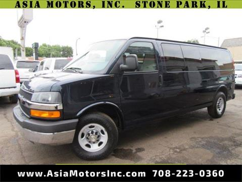 2012 Chevrolet Express Passenger for sale in Stone Park, IL