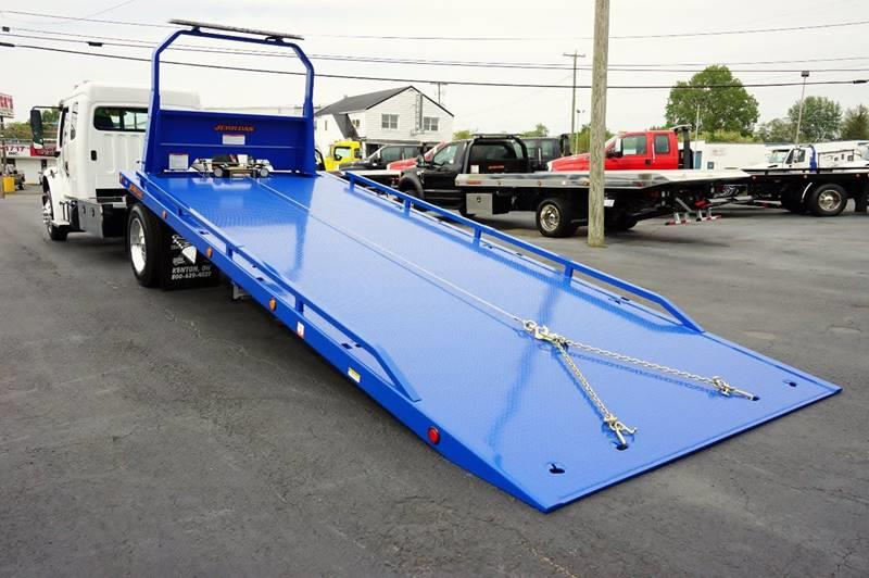 2018 Freightliner M2 Ext. Cab Rollback Wrecker Flatbed - Kenton OH
