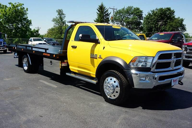 2017 Dodge Ram Pickup 5500 Rollback Wrecker Flatbed - Kenton OH