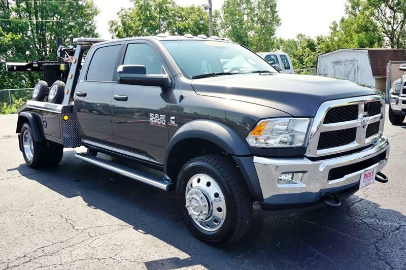 2017 Dodge Ram 5500 Crew 4x4 Wrecker Self Loader - Kenton OH
