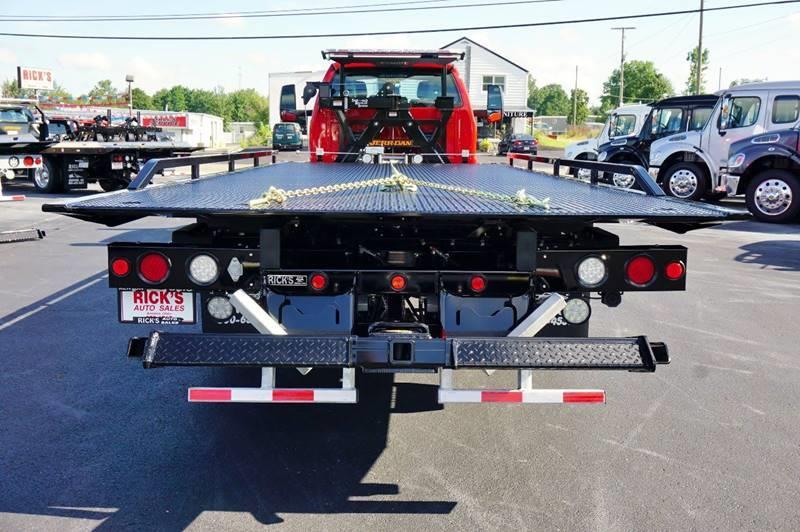 2017 Ford F-650 S/Cab Rollback Wrecker Sidepuller - Kenton OH