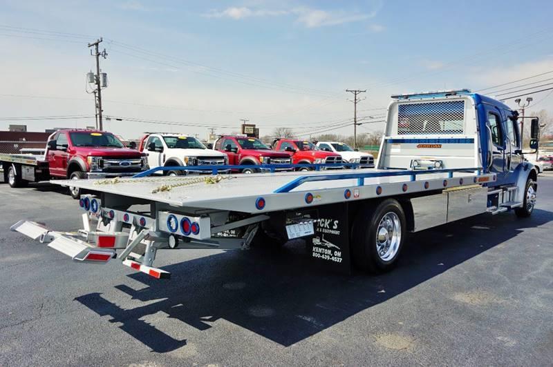 2018 Freightliner M2 Crew Rollback Wrecker Flatbed - Kenton OH