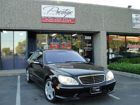 2003 Mercedes-Benz S-Class for sale in Rancho Cordova, CA