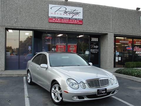 2003 Mercedes-Benz E-Class for sale in Rancho Cordova, CA