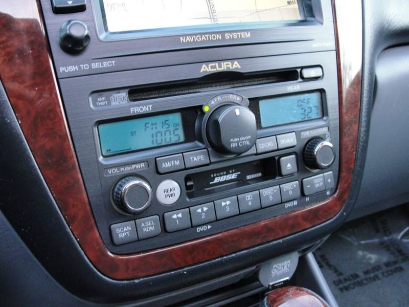 2004 acura mdx navigation screen