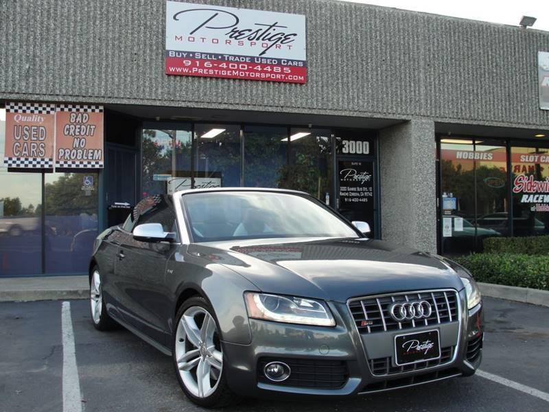2010 Audi S5 Awd 30t Quattro Prestige 2dr Convertible In Rancho