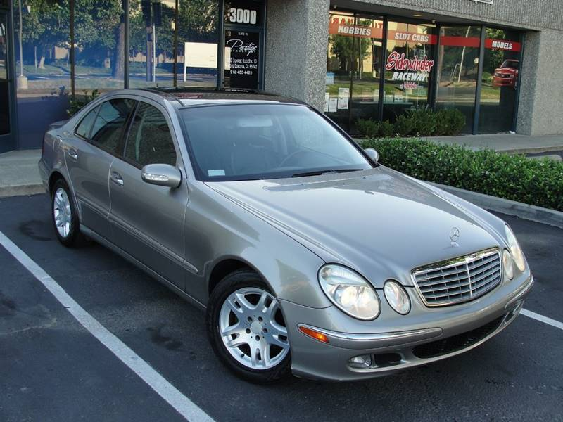 2003 mercedes benz e class e320 in rancho cordova ca. Black Bedroom Furniture Sets. Home Design Ideas