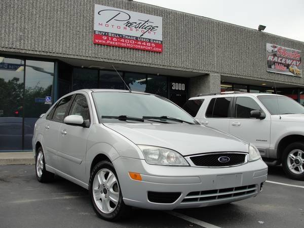 2005 ford focus zx4 st 4dr sedan in rancho cordova ca. Black Bedroom Furniture Sets. Home Design Ideas