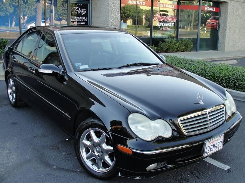 2003 Mercedes Benz C Class C240 In Rancho Cordova Ca