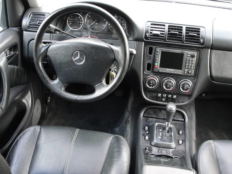 2004 Mercedes-Benz M-Class ML350 AWD 4MATIC 4dr SUV In Rancho