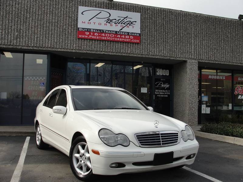 2004 Mercedes Benz C Class C 240 4dr Sedan In Rancho Cordova