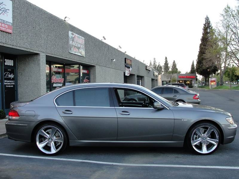 2006 Bmw 7 Series 750Li 4dr Sedan In Rancho Cordova CA - Prestige ...