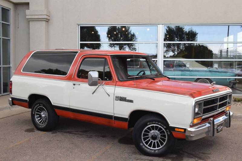 1986 Dodge Ramcharger for sale at Vern Eide Specialty and Classics in Sioux Falls SD