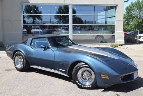 1980 Chevrolet Corvette for sale at Vern Eide Specialty and Classics in Sioux Falls SD