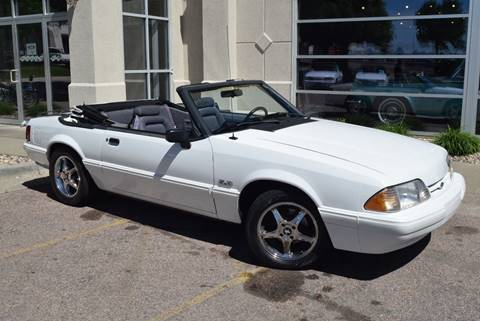 1993 Ford Mustang for sale at Vern Eide Specialty and Classics in Sioux Falls SD