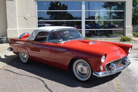 1956 Ford Thunderbird for sale at Vern Eide Specialty and Classics in Sioux Falls SD