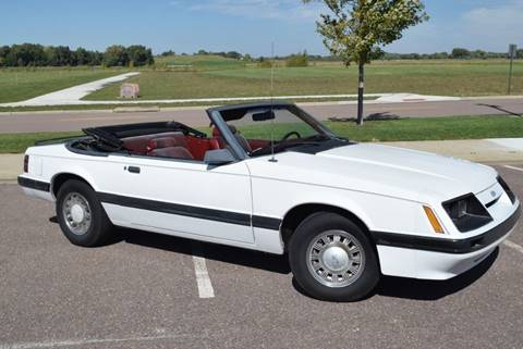 1985 Ford Mustang for sale at Vern Eide Specialty and Classics in Sioux Falls SD