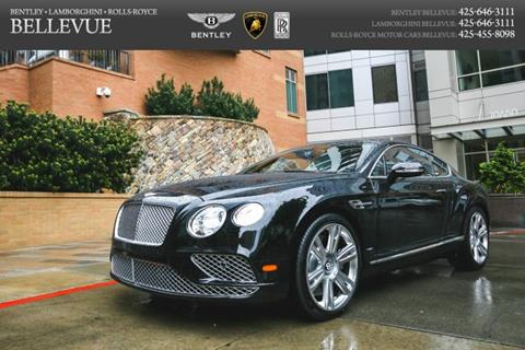 2017 Bentley Continental GT for sale in Bellevue, WA