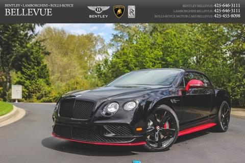 2017 Bentley Continental GTC V8 S for sale in Bellevue, WA
