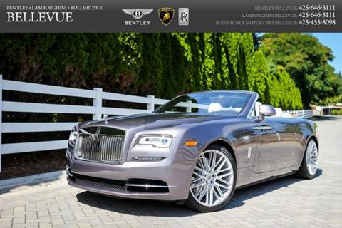 2017 Rolls-Royce Dawn for sale in Bellevue, WA