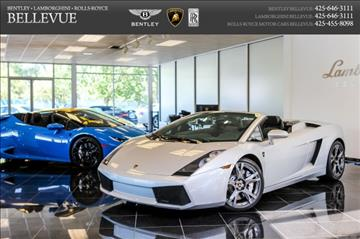 2008 Lamborghini Gallardo for sale in Bellevue, WA