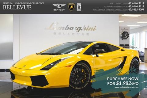 2008 Lamborghini Gallardo for sale in Bellevue, WA