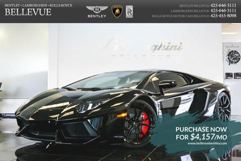 2014 Lamborghini Aventador for sale in Bellevue, WA